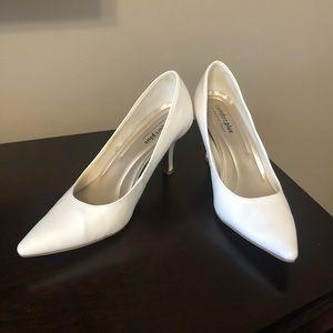 Comfort Plus White Heels